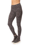 Hard Tail Forever - High Rise Ankle Legging Leopard Print (LW-566, Leopard Wood) alt view 5