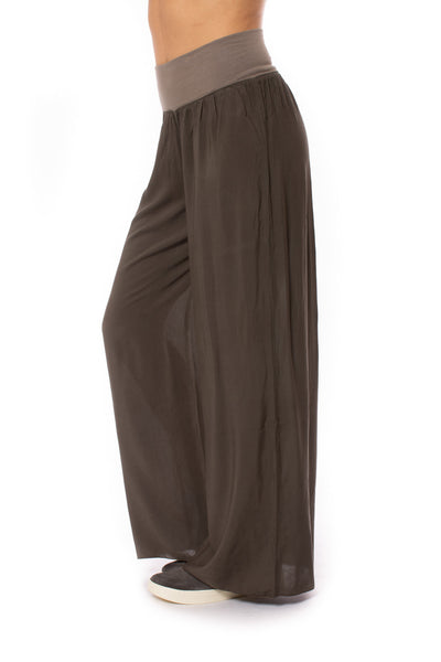 Hard Tail Forever - Flat Waist Wide Leg Pant (RV-03, Thyme) alt view 1