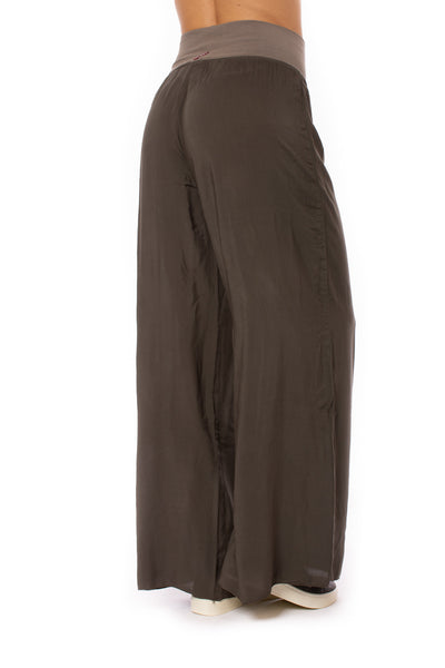 Hard Tail Forever - Flat Waist Wide Leg Pant (RV-03, Thyme) alt view 2
