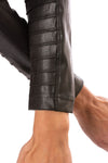 Spanx - Faux Leather Motorcycle Jaket (50158R, Black) alt view 4