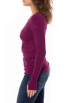 Hard Tail Forever - Cotton Lycra Long Sleeve W/Thumbhole (SL-143, Boysenberry) alt view 1