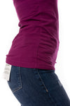 Hard Tail Forever - Cotton Lycra Long Sleeve W/Thumbhole (SL-143, Boysenberry) alt view 3