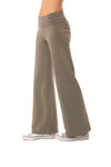 Hard Tail Forever - Wide Leg Roll Down Pants (W-326, Gravel) alt view 2