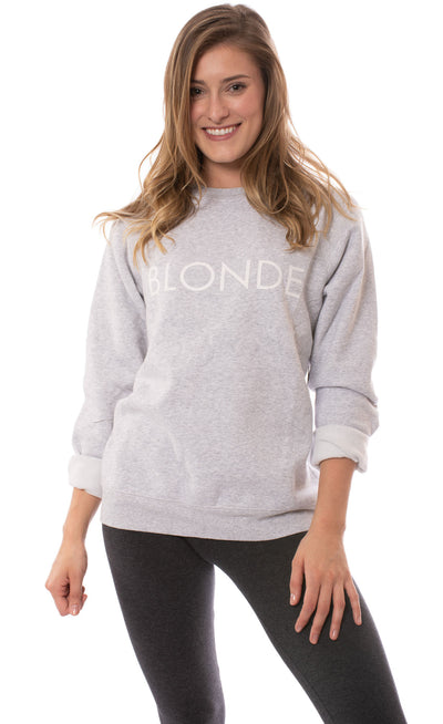 Brunette The Label - Blonde Sweatshirt (BTL0420, Heather Gray)