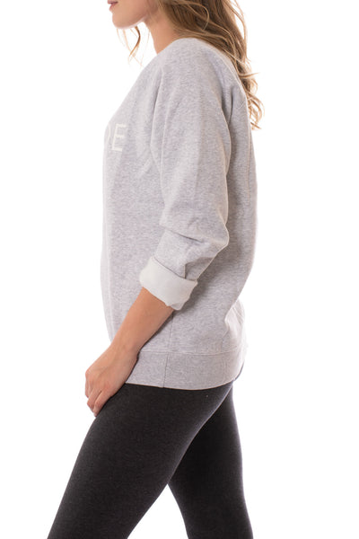 Brunette The Label - Blonde Sweatshirt (BTL0420, Heather Gray) alt view 1