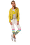 Mauritius - Pasja Lamb Leather Jacket (PASJA, Dark Yellow) alt view 6