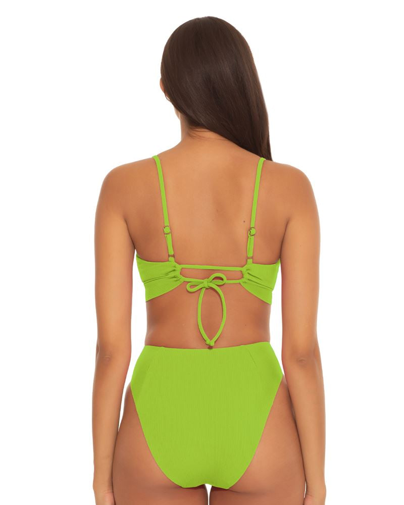 Becca Kiwi Fine Line Scoop Bra Top