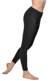 Flat Waist Ankle Legging (Style W-452, Black) by Hard Tail Forever alt view 2