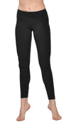 Flat Waist Ankle Legging (Style W-452, Black) by Hard Tail Forever alt view 3