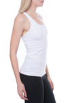 U Scoop Swimmer's Tank (Style W-396, White) by Hard Tail Forever alt view 2