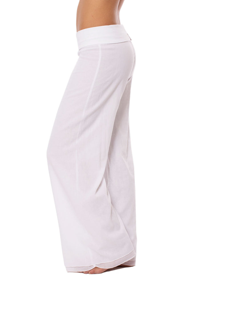 Hard Tail forever - Double Layered Voile Pant (VL-29, White)