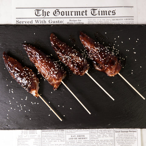 F/R Honey Soy Chicken Kebabs