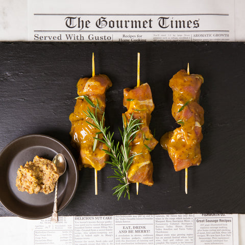 Lamb Honey/Mustard Kebab