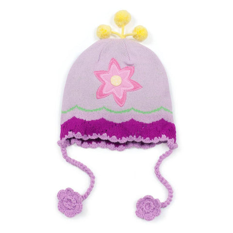 Lotus Flower Baby Knit Hat