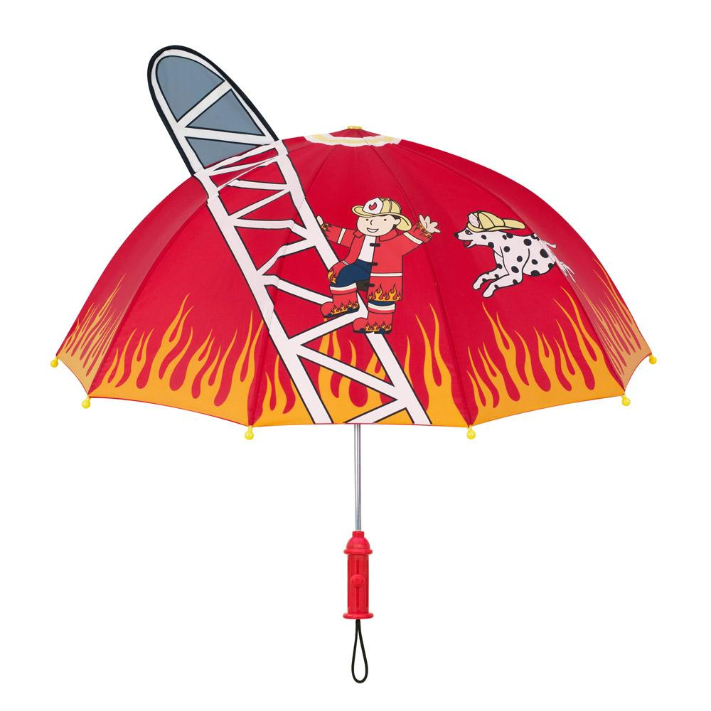 Fireman Umbrella for Toddlers and Adults