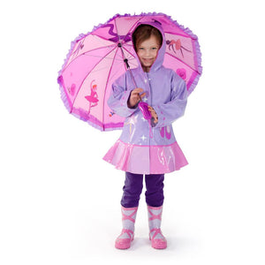 Ballerina Umbrella for Toddlers and Adults