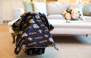 New Orleans - 2 in 1 Baby Car Seat Canopy and Breast Feeding Nursing Cover