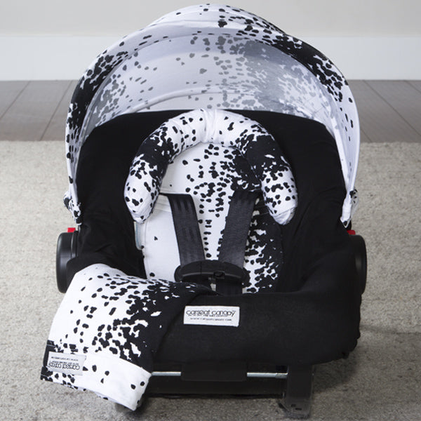Liv - Carseat Canopy 5 Pc Whole Caboodle Baby Infant Car Seat Cover Kit with Minky Fabric