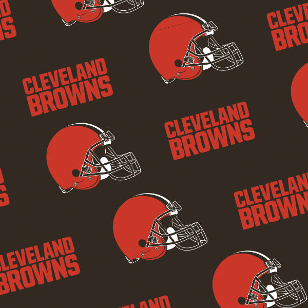 Cleveland Browns - 2 in 1 Baby Car Seat Canopy and Breast Feeding Nursing Cover