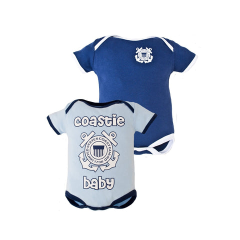 2pc Boys Coast Guard Bodysuits-justbabywear