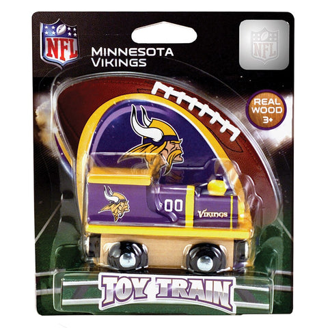 Minnesota Vikings NFL Toy Train Engine