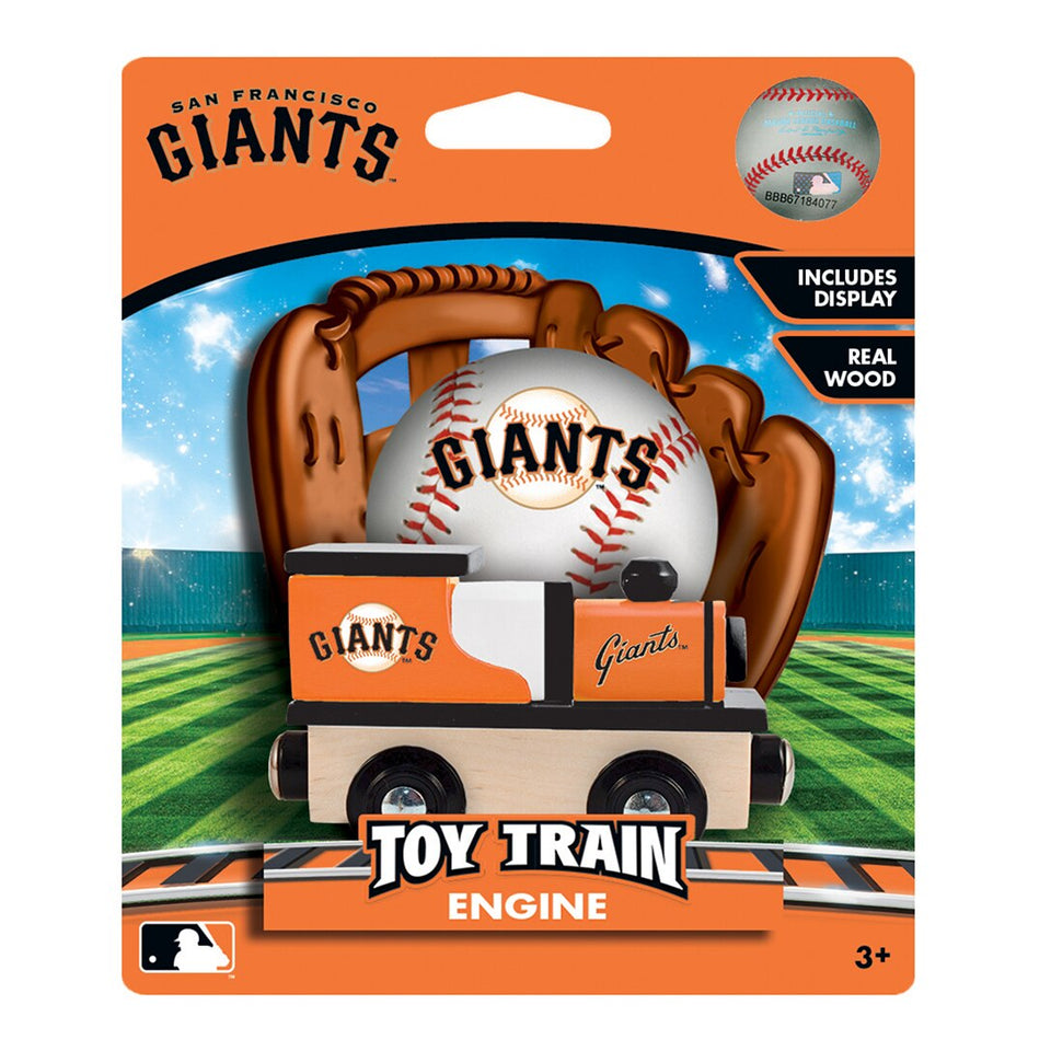 San Francisco Giants MBL Toy Train Engine