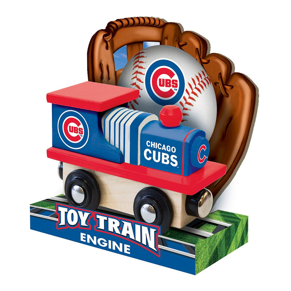 Chicago Cubs MLB Toy Train Engine