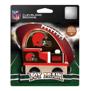 Cleveland Browns NFL Toy Train Engine