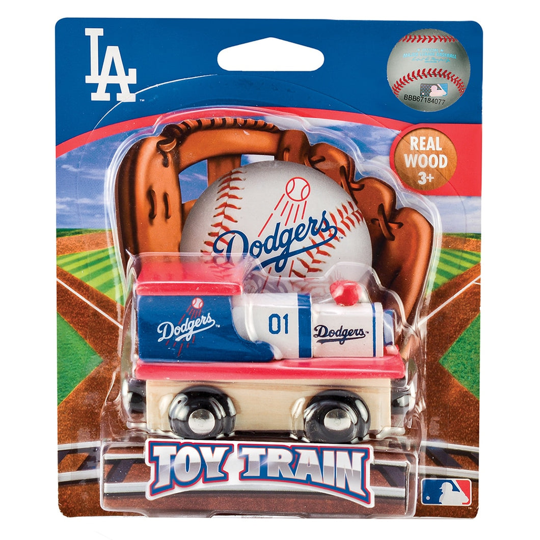 Los Angeles Dodgers MLB Toy Train Engine