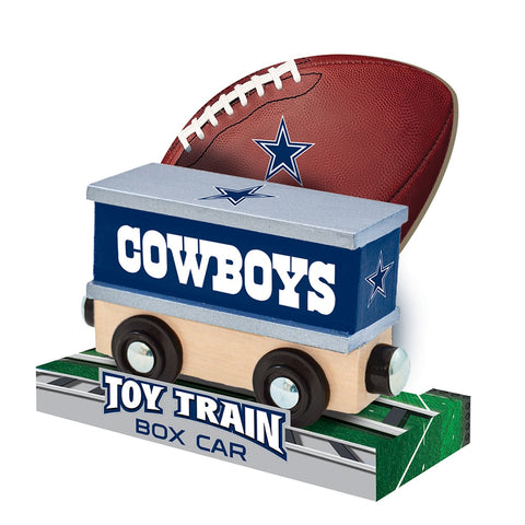 Dallas Cowboys NFL Box Car Trains