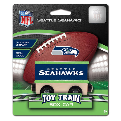 Seattle Seahawks NFL Box Car Trains
