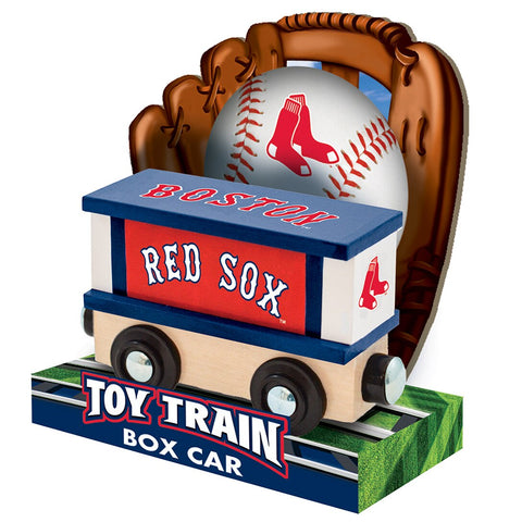 Boston Red Sox MLB Box Car Trains