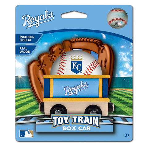 Kansas City Royals MLB Box Car Trains