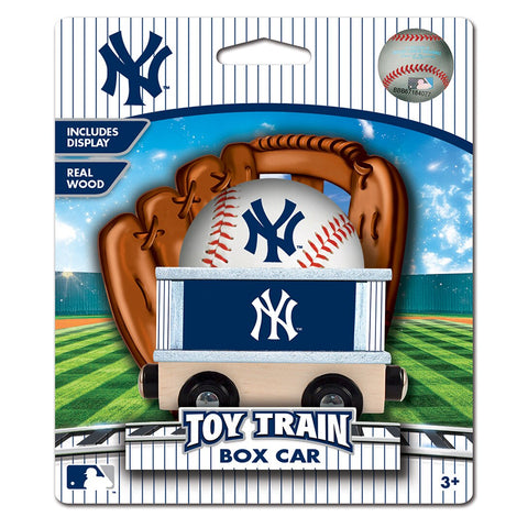 New York Yankees MLB Box Car Trains