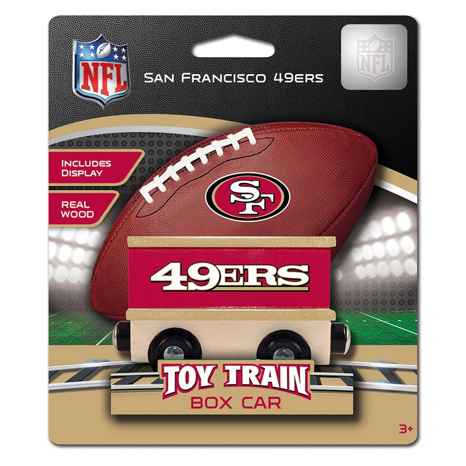San Francisco 49ERS NFL Box Car Trains