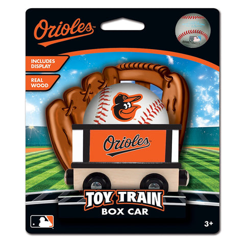 Baltimore Orioles MLB Box Car Trains