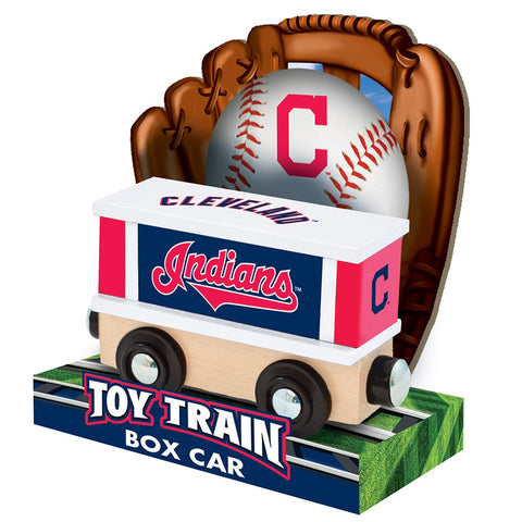 Cleveland Indians MLB Box Car Trains