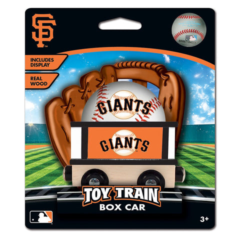 San Francisco Giants MLB Box Car Trains