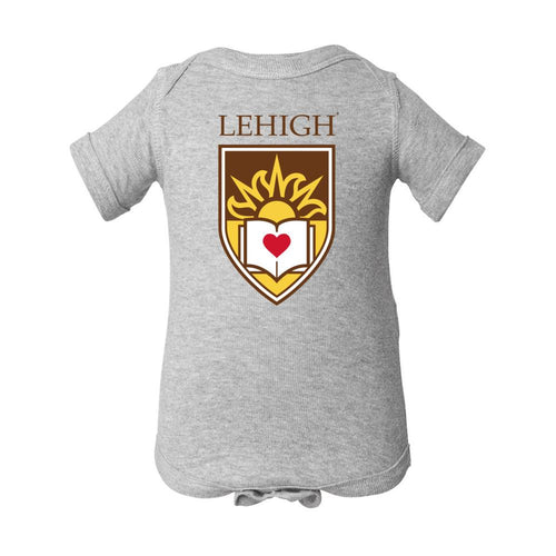 Lehigh Mountain Hawks Baby Short Sleeve One Piece- Onesie