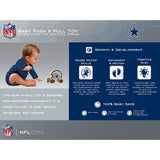 Dallas Cowboys Push & Pull Wooden Toy