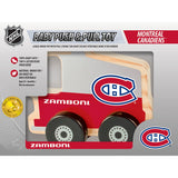 Montreal Canadiens Push & Pull Wooden Toy