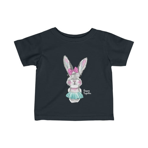 Happy Together Bunny Infant Girls Tee