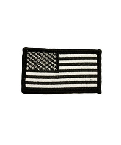 Black and White American Flag Patch-justbabywear