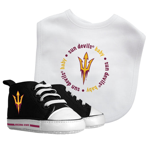 Bib & Prewalker Gift Set - Arizona State University-justbabywear