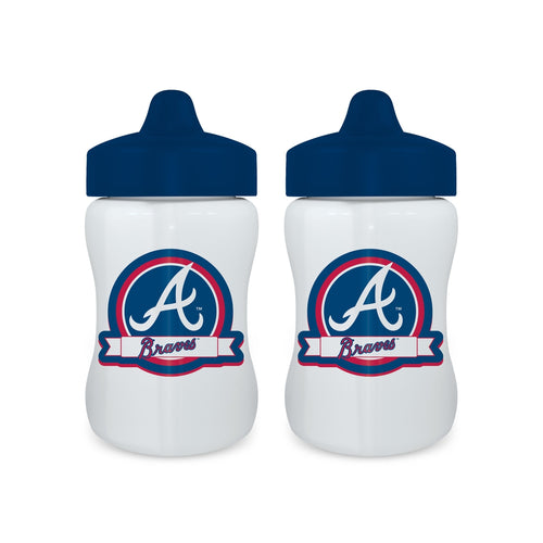 Sippy Cup (2 Pack) - Atlanta Braves-justbabywear