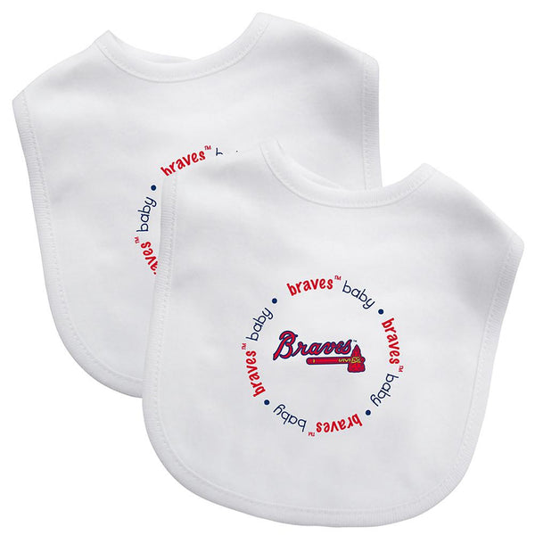 Bibs (2 Pack) - Atlanta Braves-justbabywear