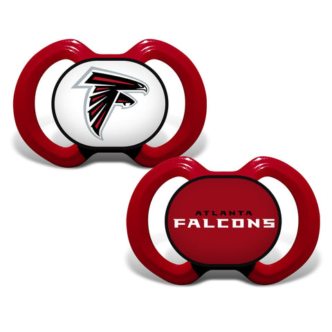 Gen. 3000 Pacifier 2-Pack - Atlanta Falcons-justbabywear