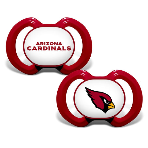 Gen. 3000 Pacifier 2-Pack - Arizona Cardinals-justbabywear
