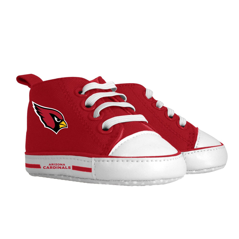 Pre-walker Hightop (1 Size fits Most) (Hanger) - Arizona Cardinals-justbabywear