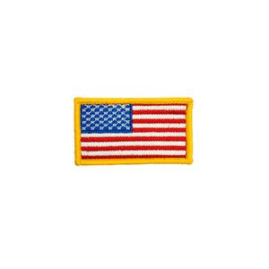 Yellow Edge Standard American Flag Patch